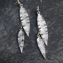 Leaf earrings E25